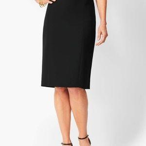 Talbots Plus Black Skirt